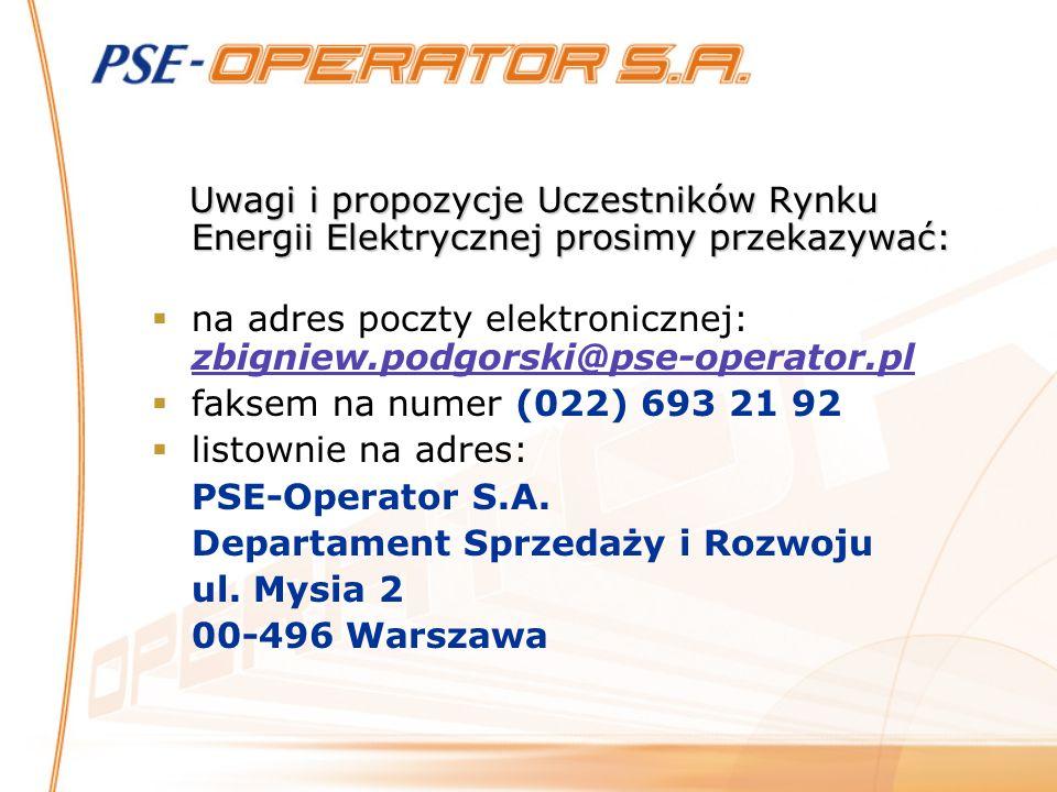 na adres poczty elektronicznej: zbigniew.podgorski@pse-operator.pl