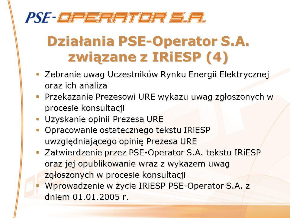 Działania PSE-Operator S.A. związane z IRiESP (4)