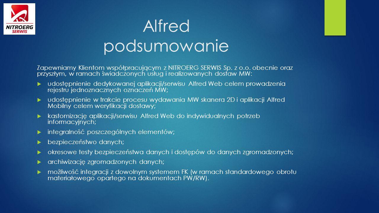 Alfred podsumowanie