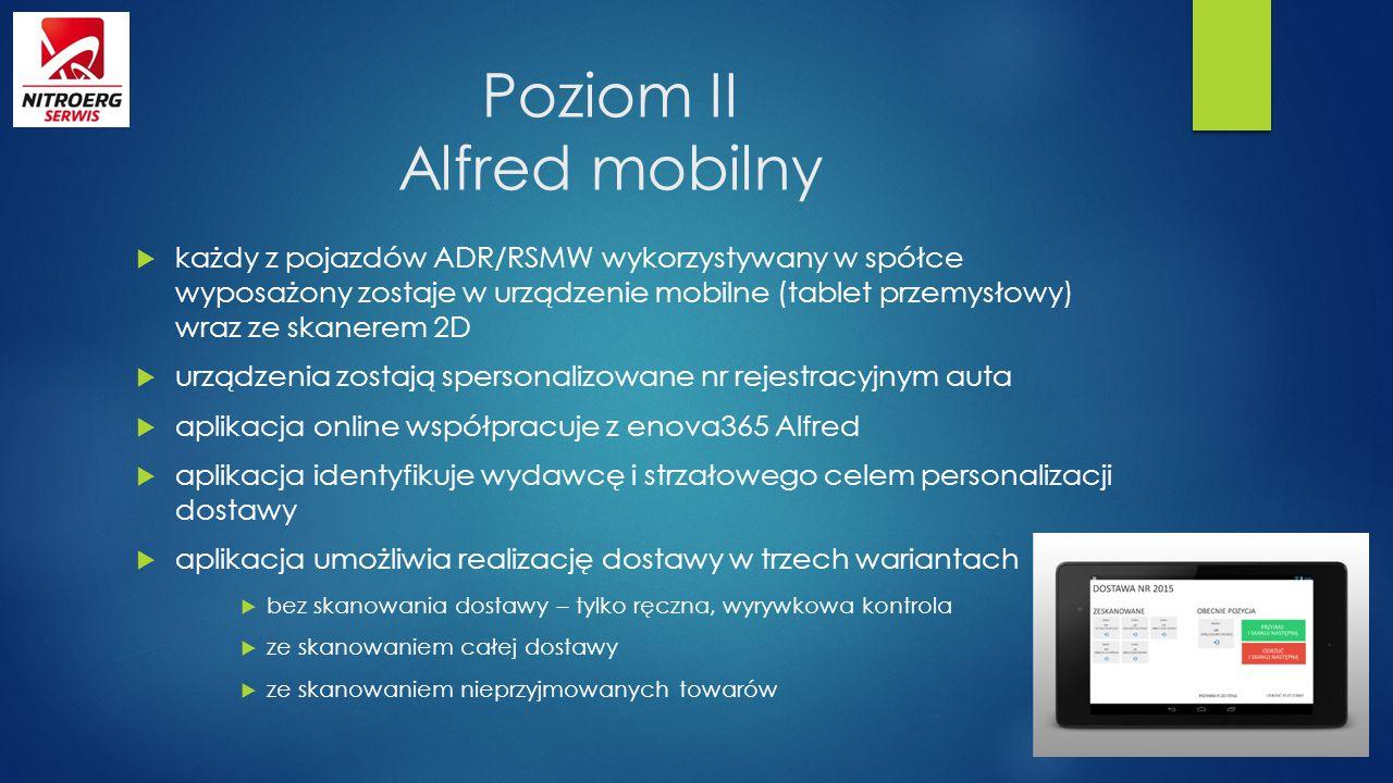 Poziom II Alfred mobilny
