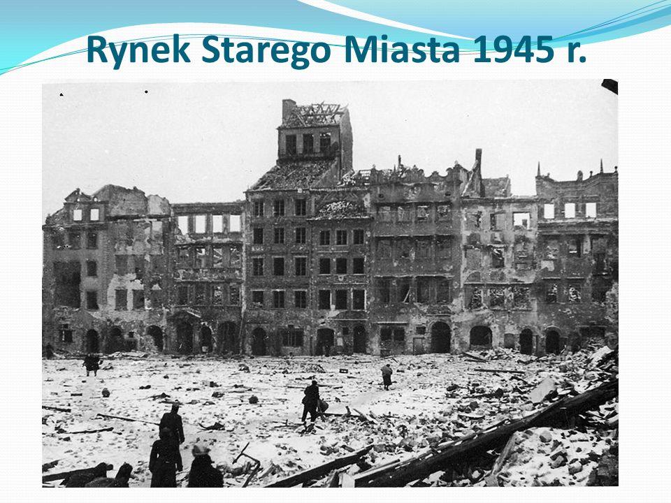Rynek Starego Miasta 1945 r.