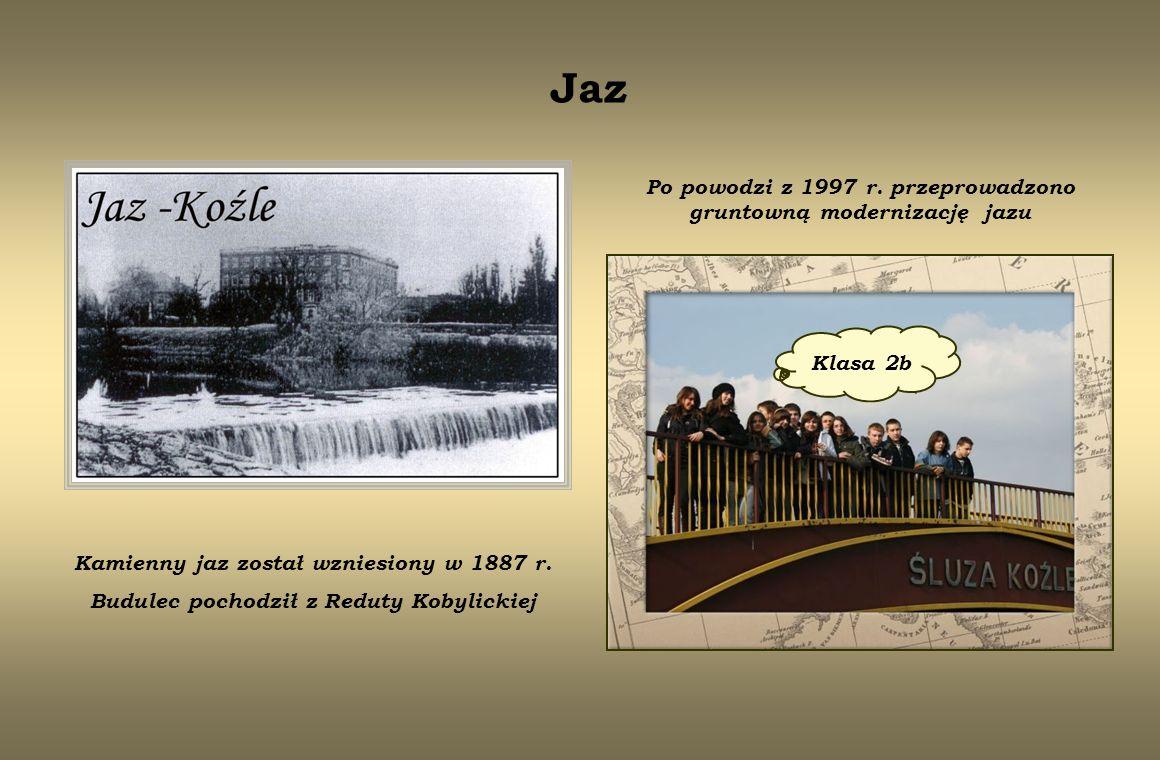 Po powodzi z 1997 r. przeprowadzono gruntowną modernizację jazu
