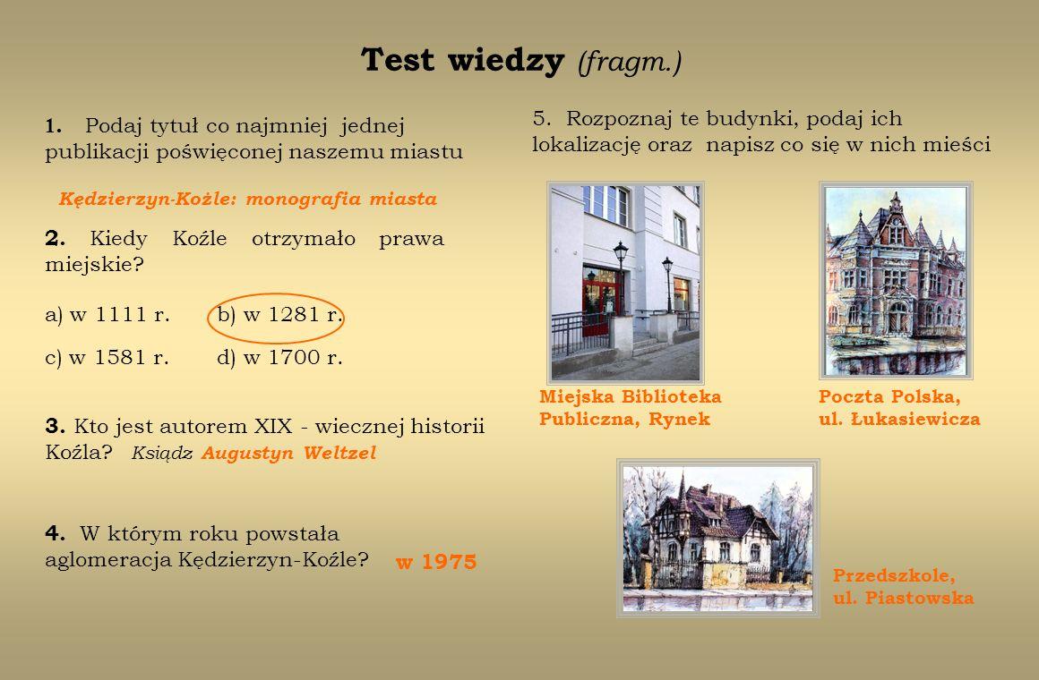 Kędzierzyn-Kożle: monografia miasta