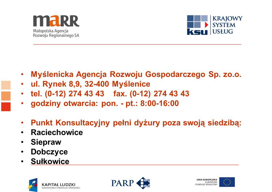Myślenicka Agencja Rozwoju Gospodarczego Sp. zo.o.