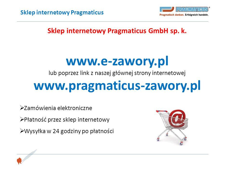Sklep internetowy Pragmaticus GmbH sp. k.