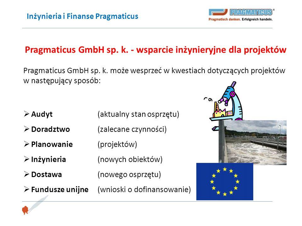 Pragmaticus GmbH sp. k. - wsparcie inżynieryjne dla projektów