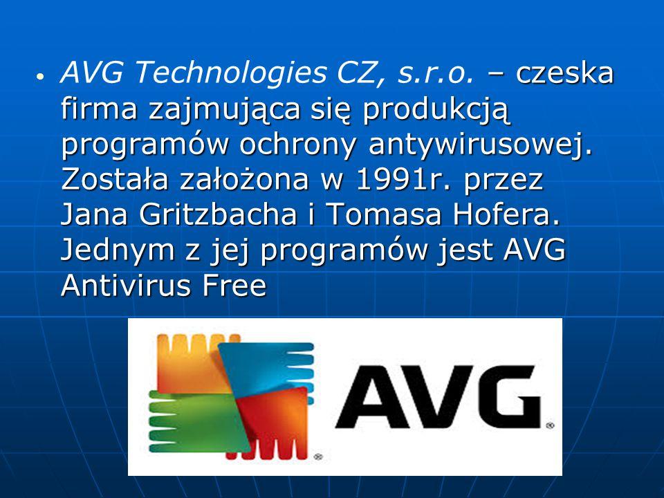 AVG Technologies CZ, s. r. o