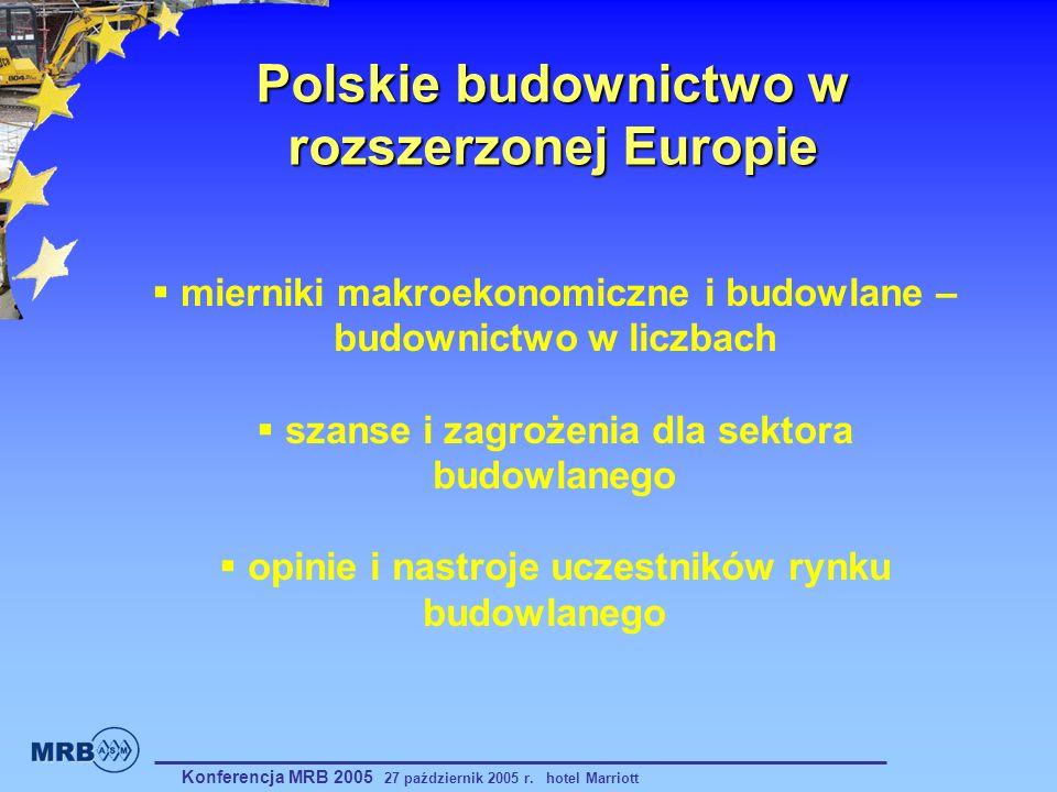 Polskie budownictwo w rozszerzonej Europie