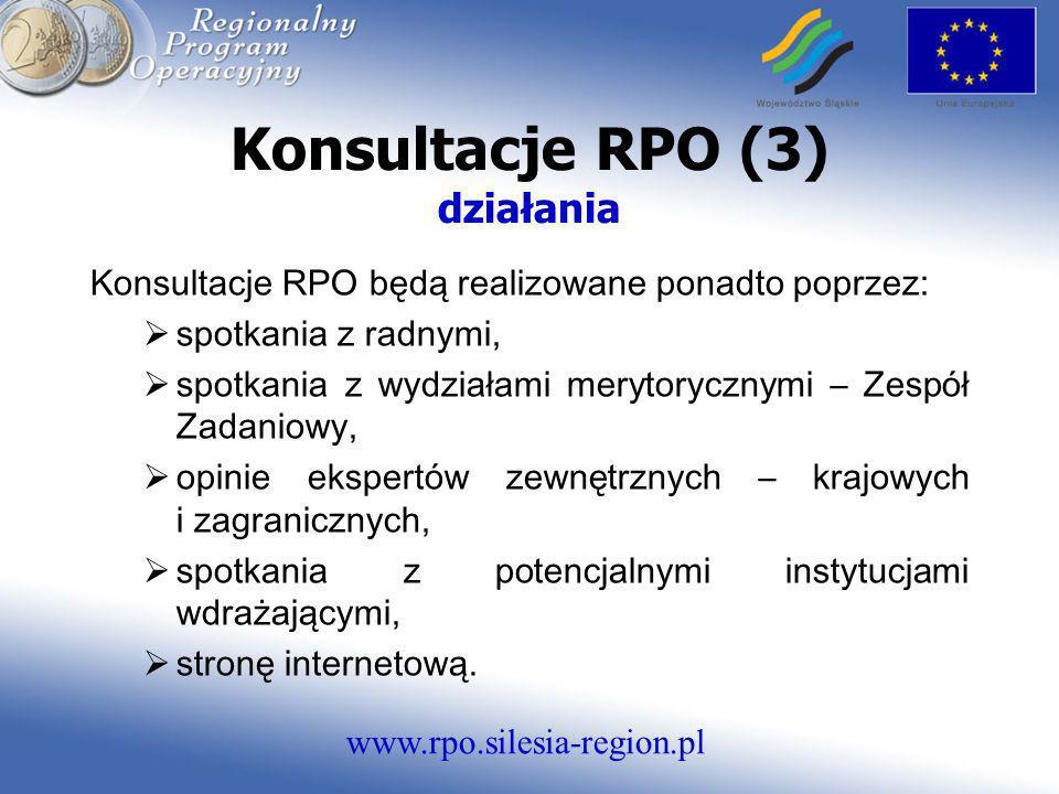 Konsultacje RPO (3) działania