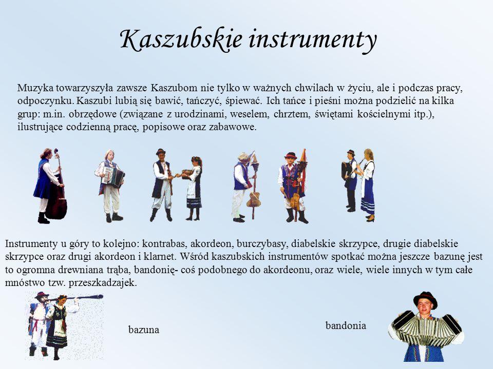 Kaszubskie instrumenty