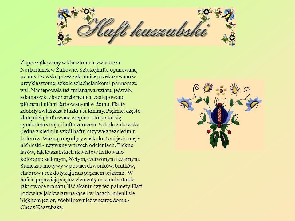 Zapoczątkowany w klasztorach, zwłaszcza Norbertanek w Żukowie