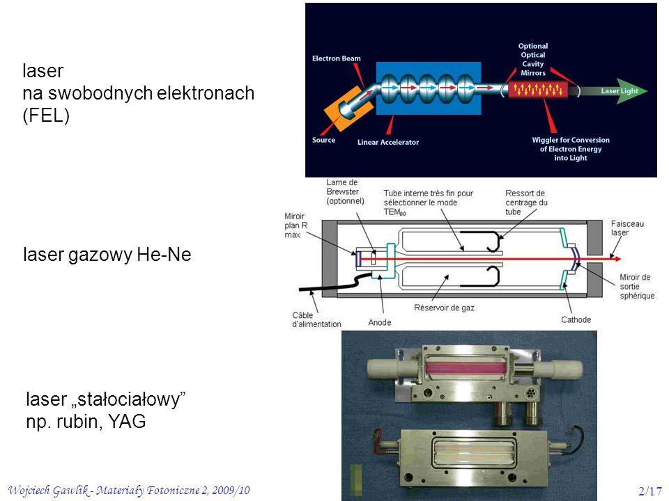 na swobodnych elektronach (FEL)