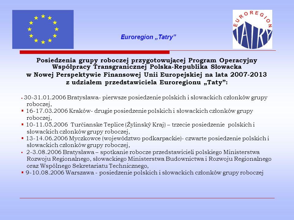 w Nowej Perspektywie Finansowej Unii Europejskiej na lata 2007-2013