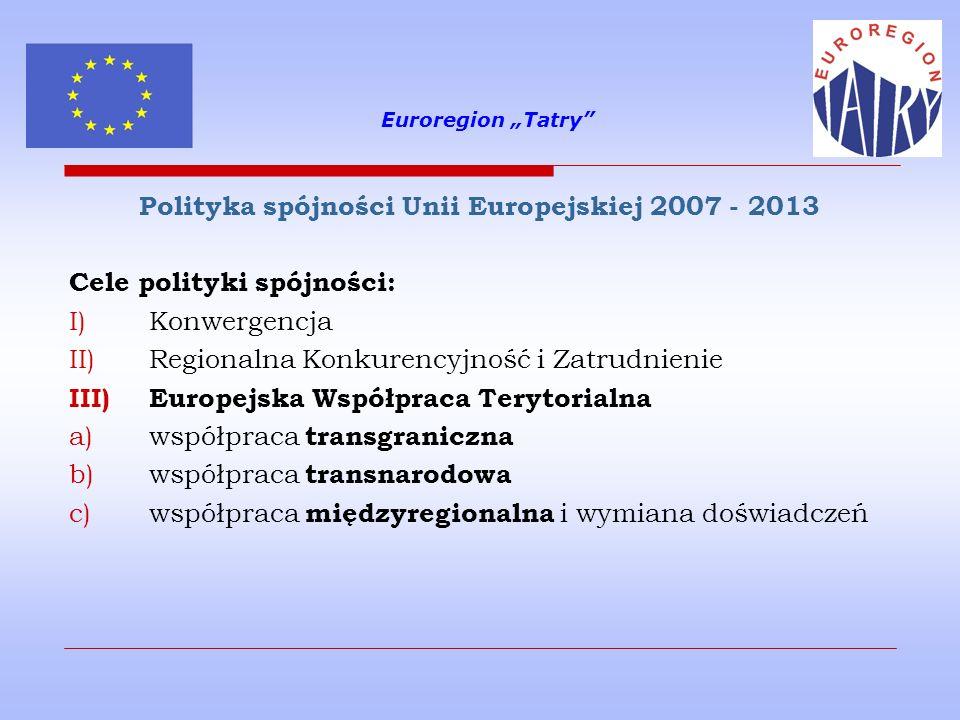 Polityka spójności Unii Europejskiej 2007 - 2013