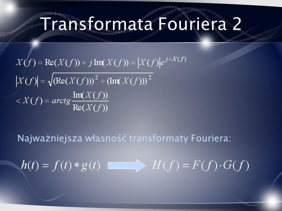 Transformata Fouriera 2