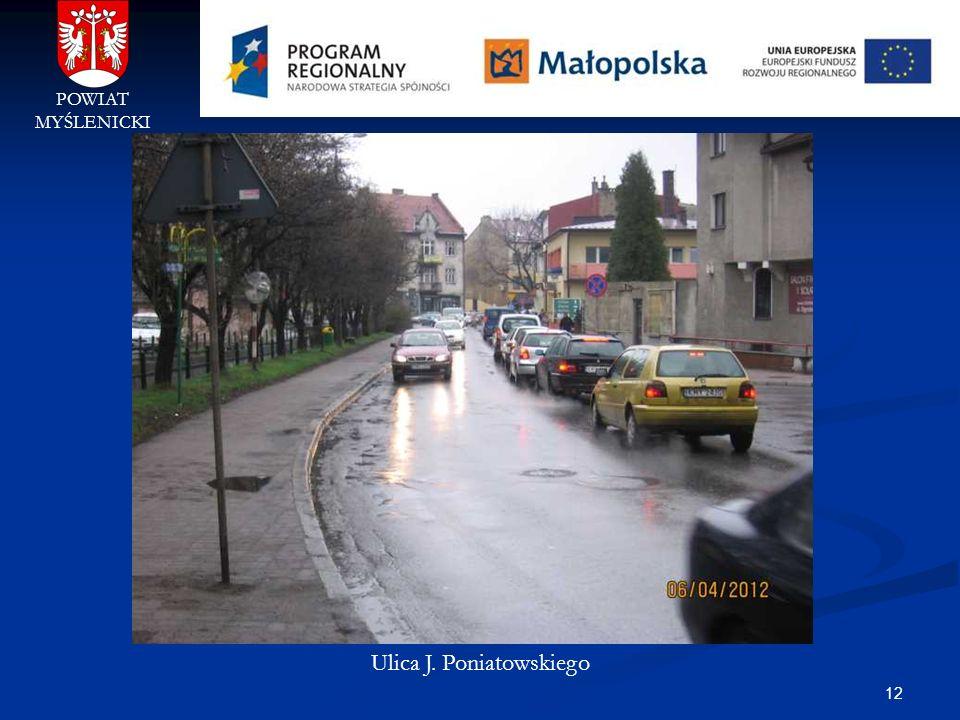 Ulica J. Poniatowskiego