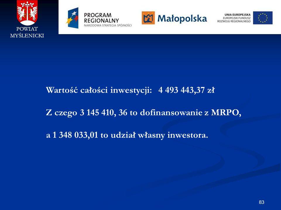 Wartość całości inwestycji: 4 493 443,37 zł