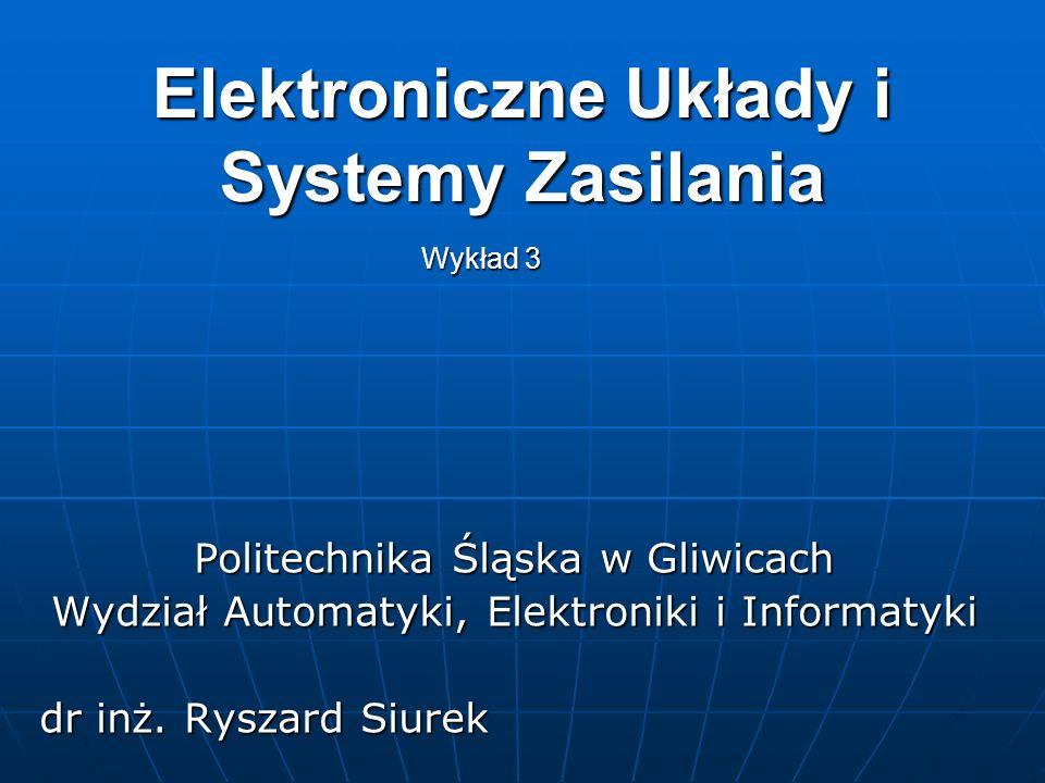 Elektroniczne Układy i Systemy Zasilania