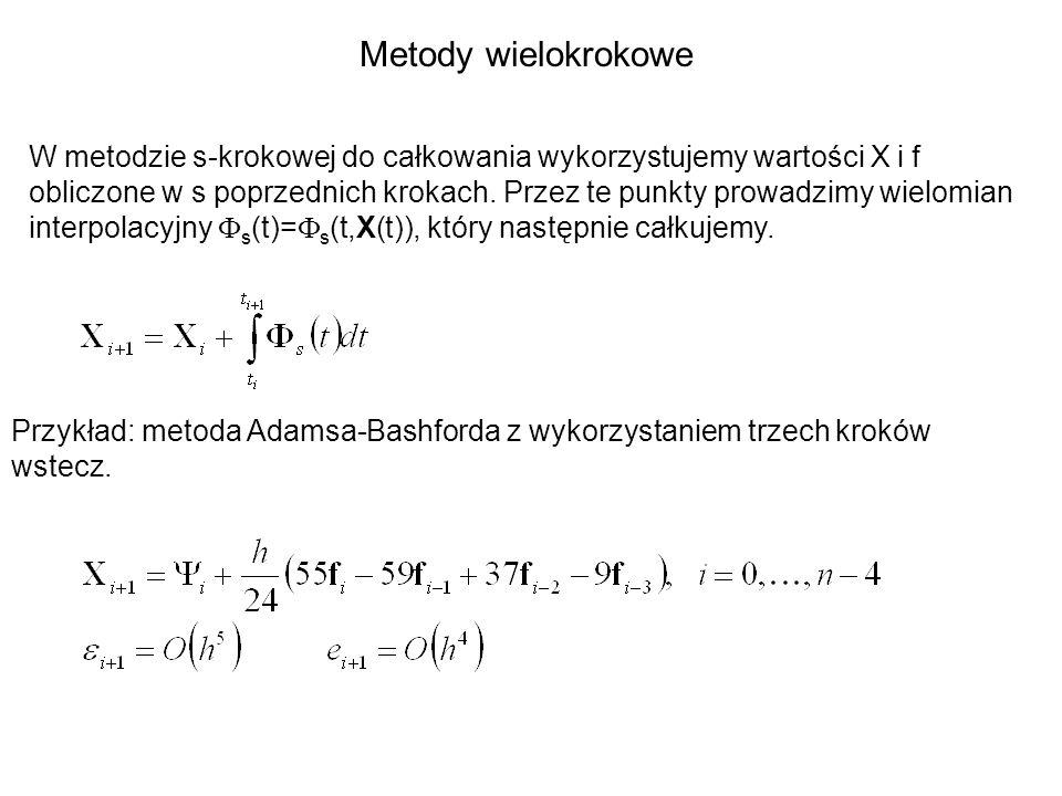 Metody wielokrokowe