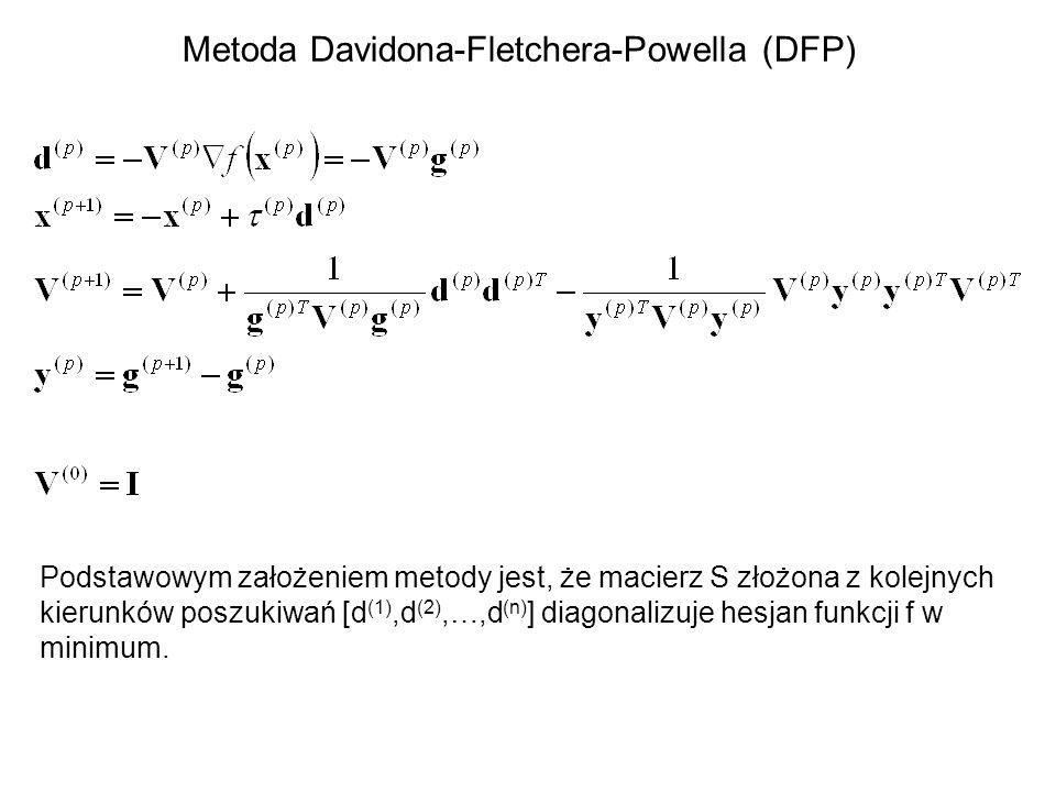 Metoda Davidona-Fletchera-Powella (DFP)