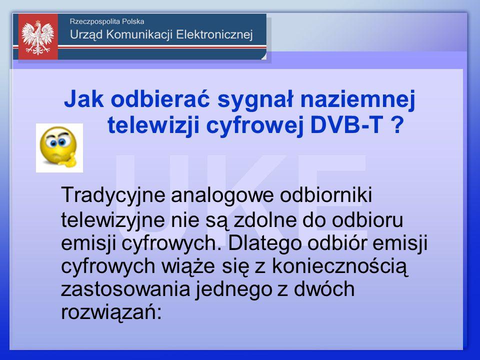 Jak odbierać sygnał naziemnej telewizji cyfrowej DVB-T