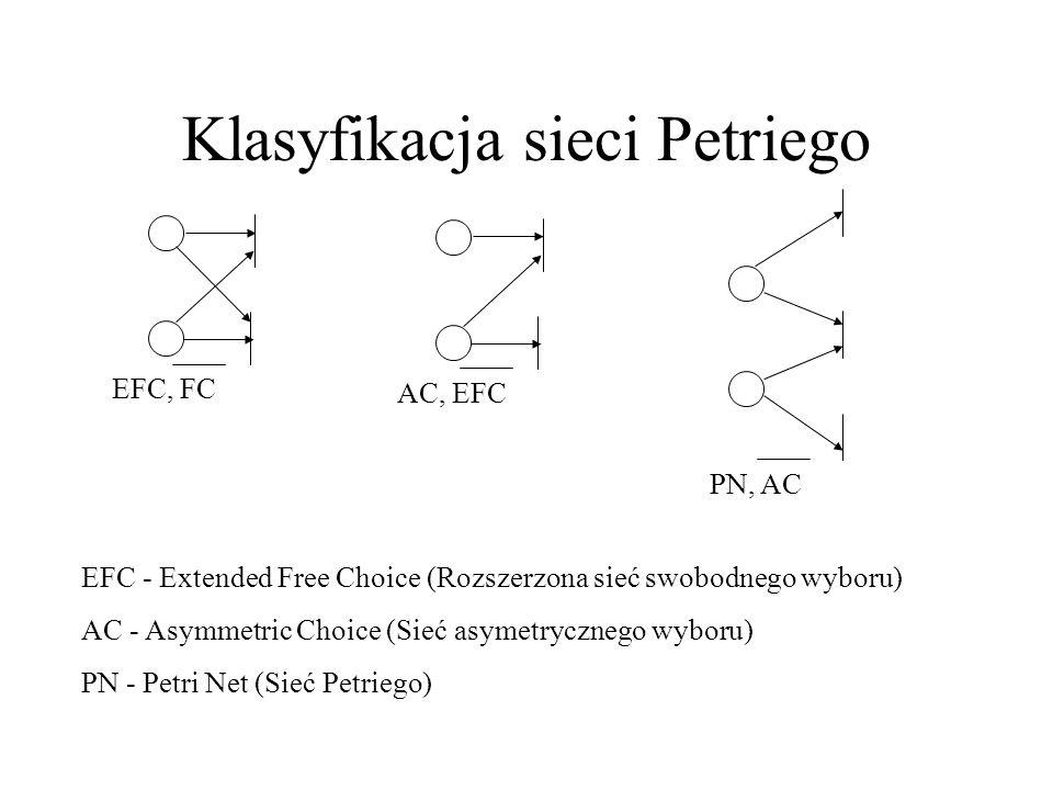 Klasyfikacja sieci Petriego