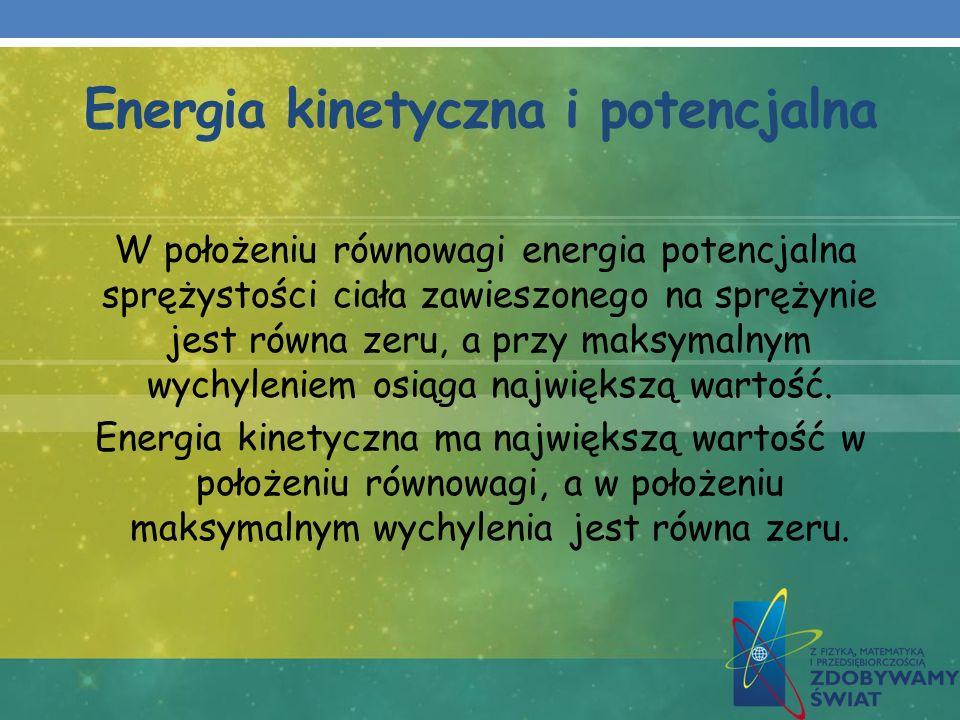 Energia kinetyczna i potencjalna