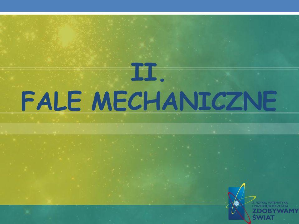 II. FALE MECHANICZNE