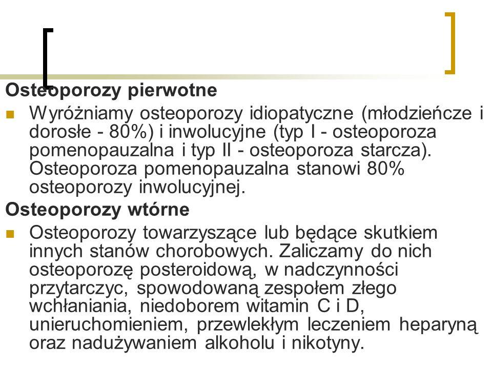 Osteoporozy pierwotne