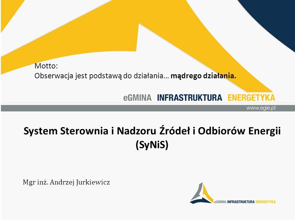 System Sterownia i Nadzoru Źródeł i Odbiorów Energii (SyNiS)