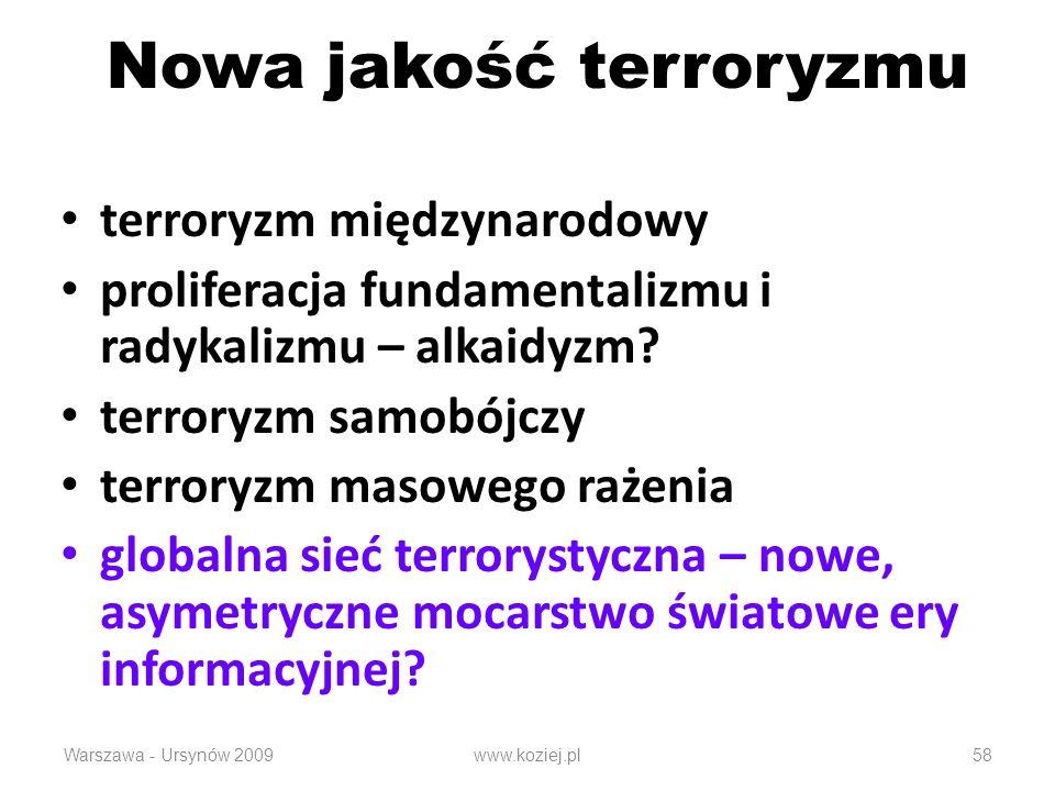 Nowa jakość terroryzmu