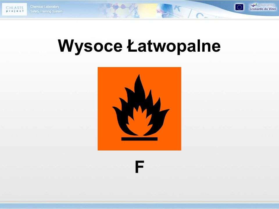 Wysoce Łatwopalne F