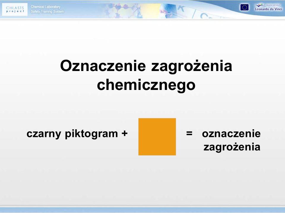 Oznaczenie zagrożenia chemicznego