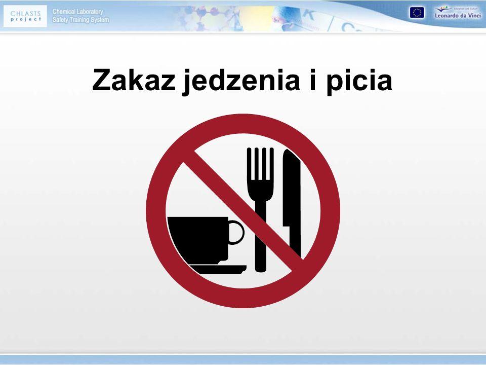 Zakaz jedzenia i picia