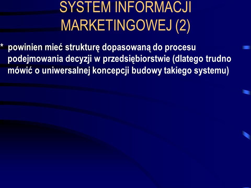 SYSTEM INFORMACJI MARKETINGOWEJ (2)