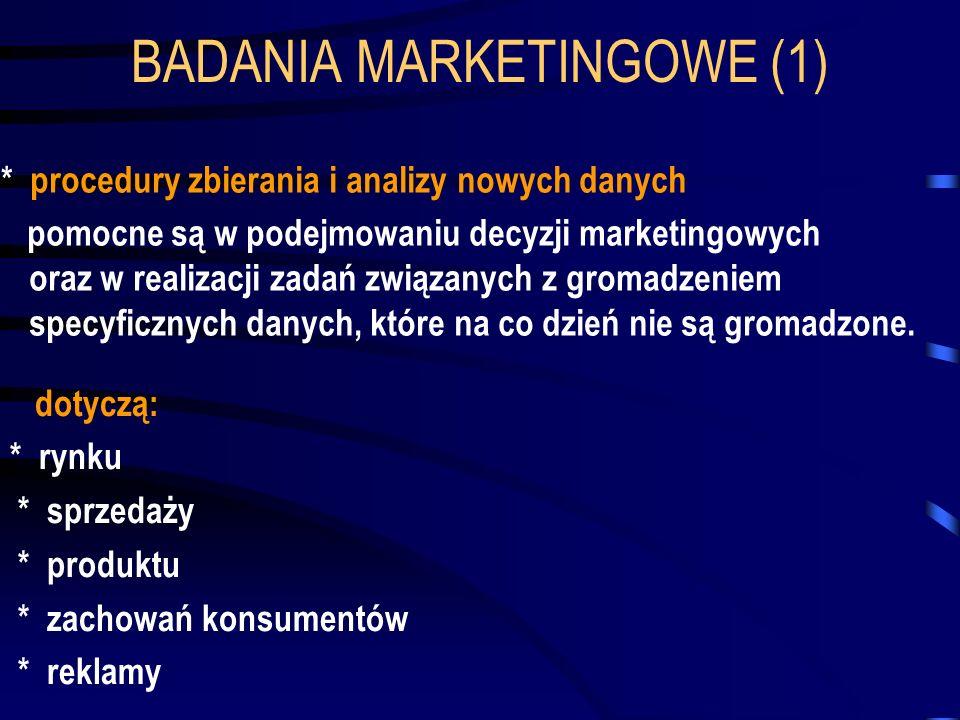 BADANIA MARKETINGOWE (1)