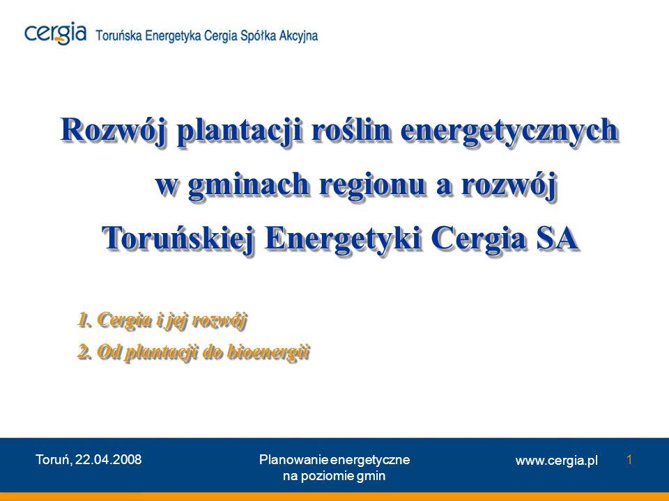 Rozwój plantacji roślin energetycznych w gminach regionu a rozwój