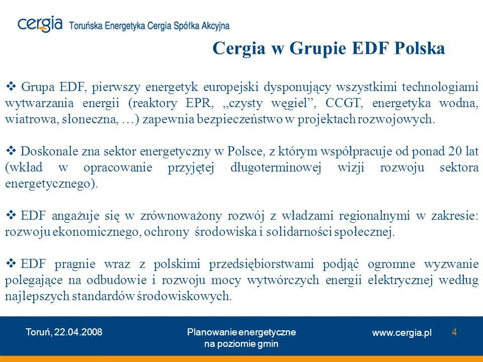 Cergia w Grupie EDF Polska