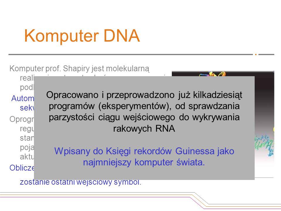 Wpisany do Księgi rekordów Guinessa jako najmniejszy komputer świata.