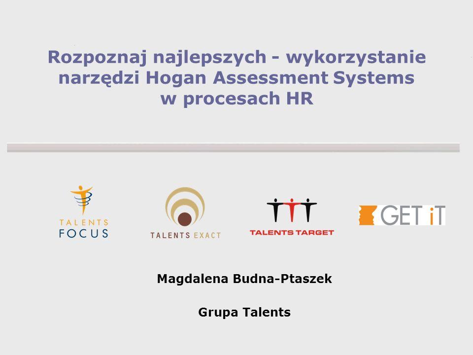 Magdalena Budna-Ptaszek Grupa Talents