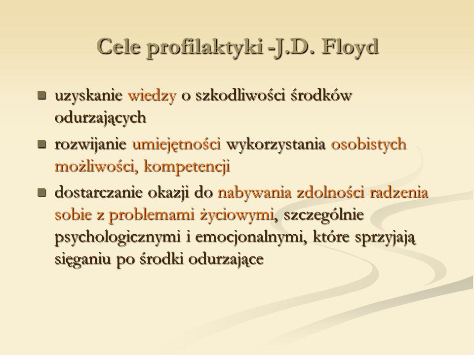 Cele profilaktyki -J.D. Floyd