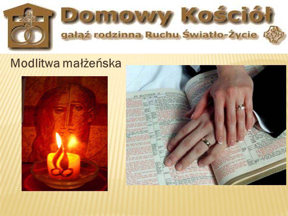 Modlitwa małżeńska