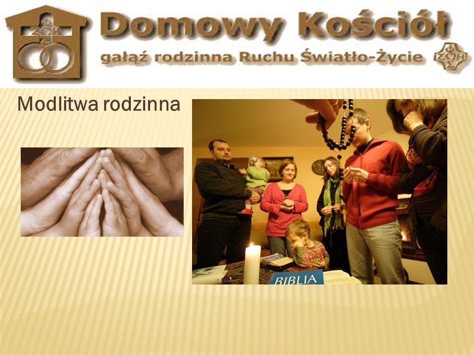 Modlitwa rodzinna