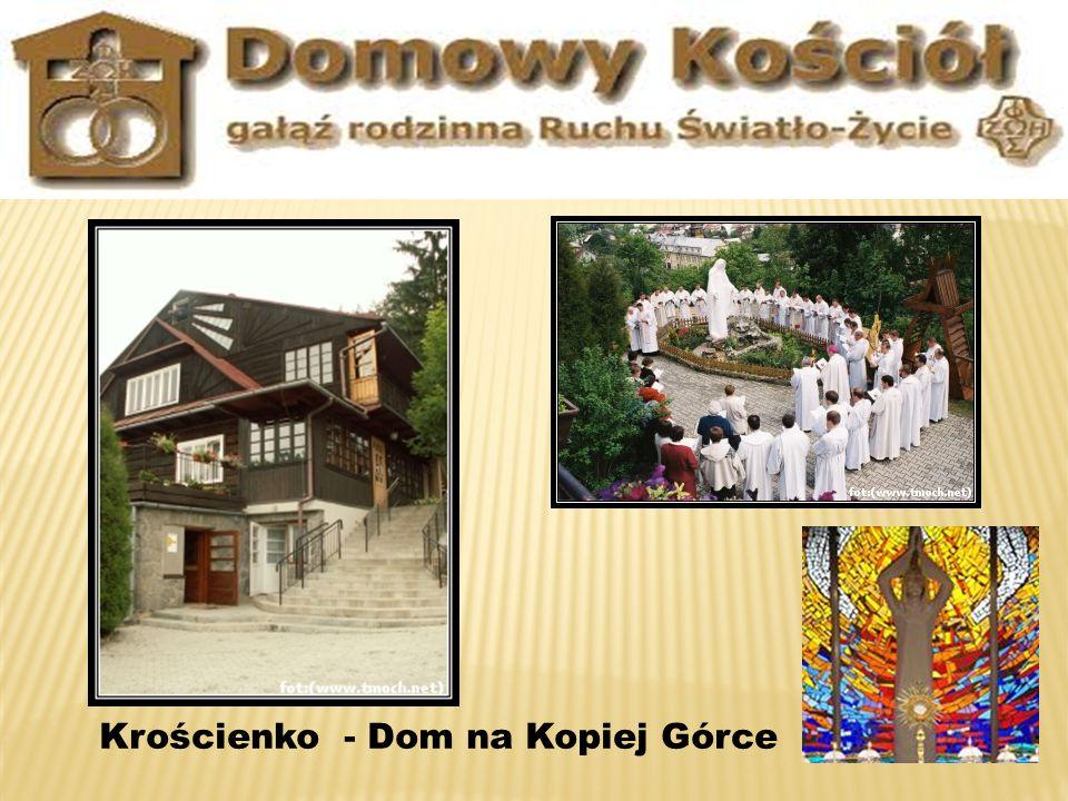 Krościenko - Dom na Kopiej Górce