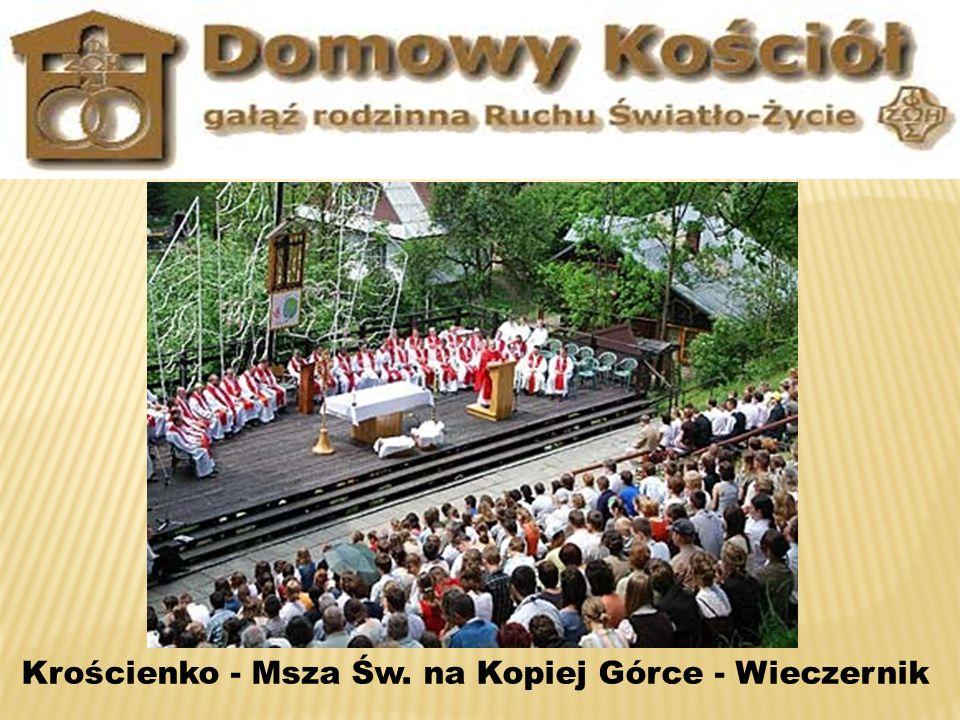 Krościenko - Msza Św. na Kopiej Górce - Wieczernik