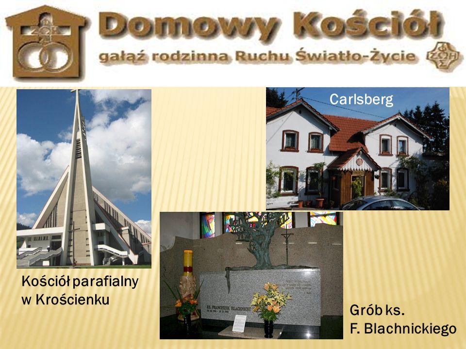 Carlsberg Kościół parafialny w Krościenku Grób ks. F. Blachnickiego
