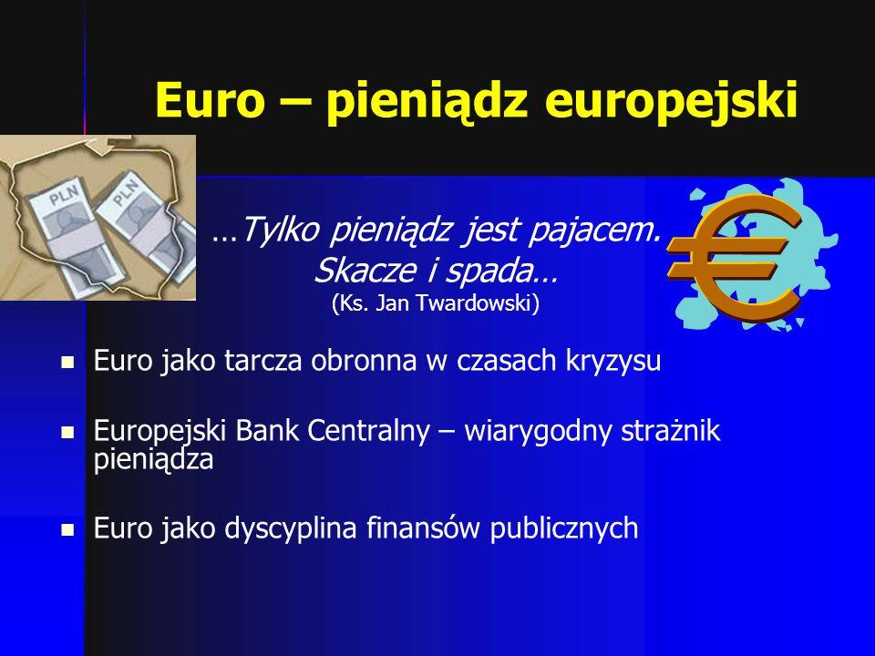 Euro – pieniądz europejski