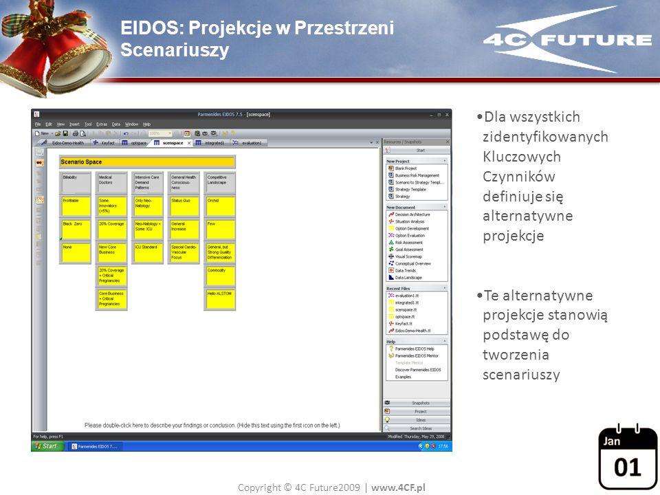 EIDOS: Projekcje w Przestrzeni Scenariuszy