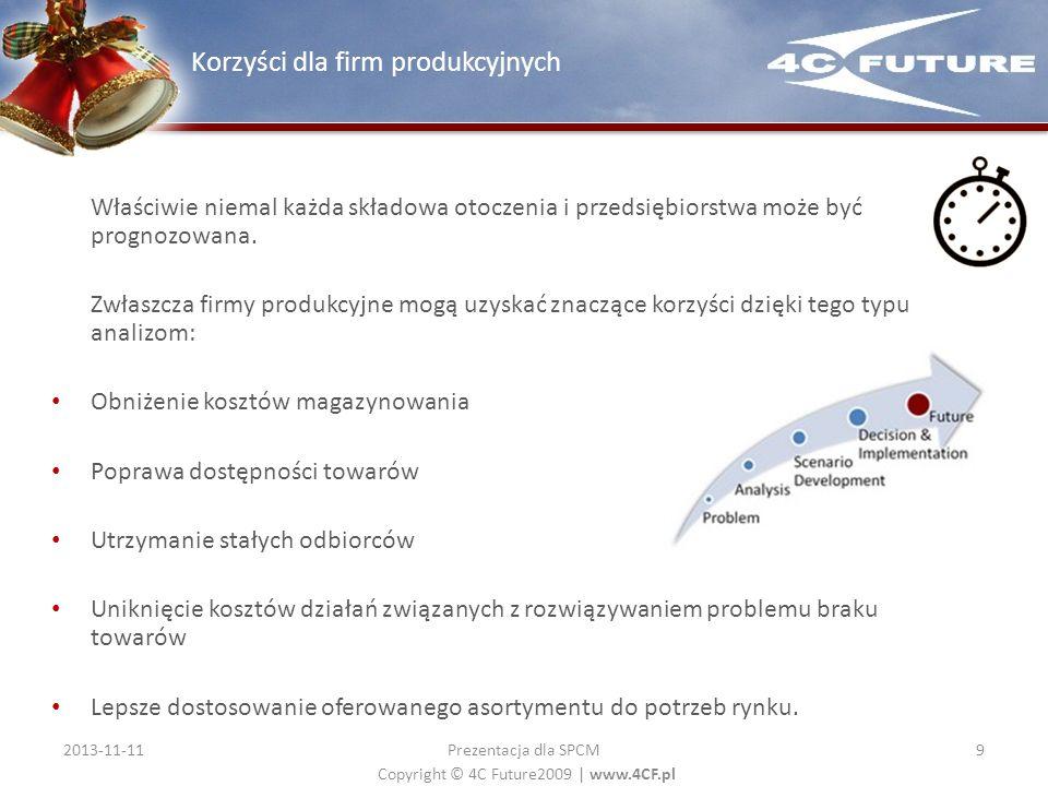 Korzyści dla firm produkcyjnych