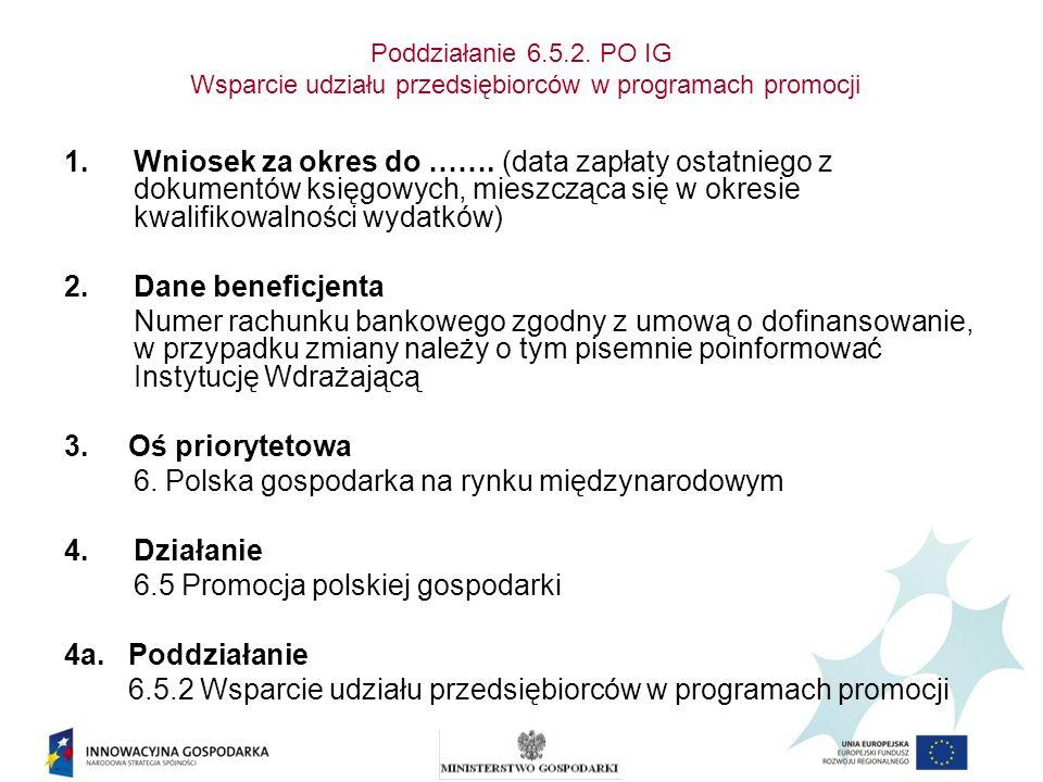 6. Polska gospodarka na rynku międzynarodowym Działanie
